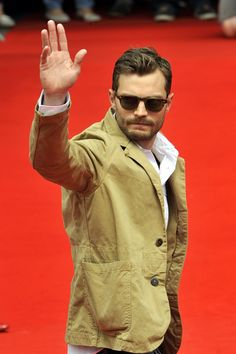 Jamie Dornan Steps Out for Anthropoid Press Conference