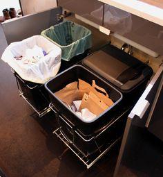 30 Unique Undersink Trash Can Ideas, Pictures, Remodel and Decor #Undersink #Trash+Can Ideas