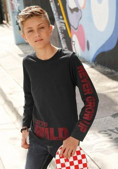 Buffalo long sleeve shirt with cool prints, buy long sleeve shirt from Buffalo for boys online OTTO Cute 13 Year Old Boys, Young Cute Boys, Cute Teenage Boys, Tween Boy Haircuts, Young Boy Haircuts, Blonde Jungs, Cute Blonde Boys, Young Boys Fashion, Beauty Of Boys