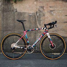 Paint Bike, Bicycle Painting, Specialized Road Bikes, Cycling Bikes, Road Cycling, Custom Sport Bikes, Push Bikes, Bike Bag, Fixed Bike