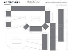 EUGENIA - KATIA ARTES - BLOG DE LETRAS PERSONALIZADAS E ALGUMAS COISINHAS: Letras 3d