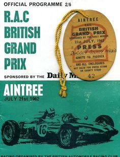 1962 GP de Gran Bretaña en Aintree