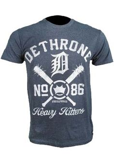 Camisa Heavy Hitters Azul Dethrone :: B4F - Best For Fight
