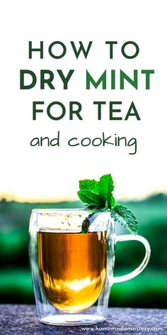 Learn how to dry mint leaves for tea and cooking! I share two methods that have worked for me - air drying mint on a herb drying rack and drying mint leaves in the oven. Herb Drying Racks, Drying Herbs, Healing Herbs, Medicinal Herbs, Healthy Skin Tips, Stay Healthy, Healthy Eating, Drying Mint Leaves, Growing Mint