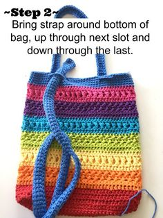Make this easy, highly textured market bag in rainbow colors or try it in subtle neutrals too.
