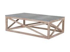 Bluestone + Wood Table Trend