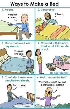 ways to make a bed
