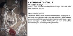 """""""achille's family"""" pencil, white conté and oil pastel cm 110x150"""