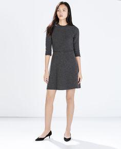 Image 1 of FLARED MINI DRESS from Zara