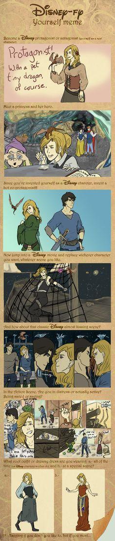 Disney-fy Yourself Meme by hotchocolateaddict on DeviantArt