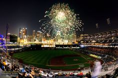Fireworks from inside PNC Park - PittsburghSkyline.com
