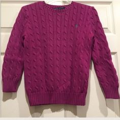 Ralph Lauren Sweater This is a sweater that I am Reposhing! The size is small! The tag is falling but still in place! It is in great condition, minimal signs of piling. no trades or PayPal! Reasonable offers welcome! Ralph Lauren Sweaters