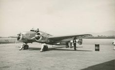 Earhart & Noonan planned to make numerous stops in South America, Africa, the Indian subcontinent & Southeast Asia (Earhart's Lockheed Electra 10E at Fortaleza, Brazil, 5 June 1937) (Fortaleza Nobre)