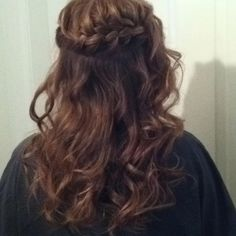 Prom hair style my mamma did