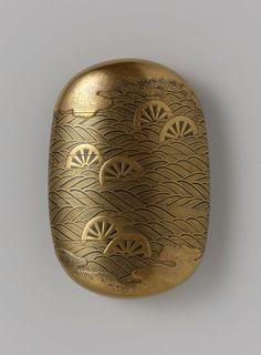 印籠 инро— коробочка для хранения мелких предметов. 1700-1800 гг.