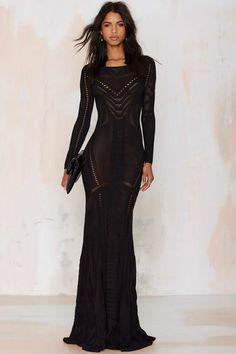 Super Trash Drease Knit Maxi Dress | Shop Clothes at Nasty Gal!