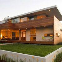 海外のおしゃれな外観デザイン実例写真 デコール インテリア 住宅