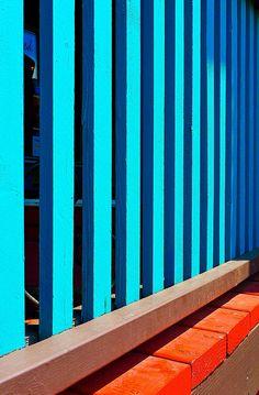 Orange / Blue