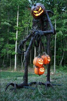 PVC Pipes Scarecrow