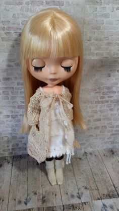 Blythe home  Time for Tea housecoat PDF pattern for 12 by polly, £3.50