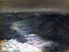 Mid Ocean in Winter. John Singer Sargent 1876  Intercepted by Gravitation