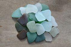 Multi colored Seaglass Medium Sea Glass Mix for Jewelry Craft Supply Genuine Seaglass Authentic Beach Glass DIY Bulk Craft Supplies Mozaics