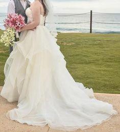 Mori Lee 'Marissa size 12 used wedding dress - Nearly Newlywed Bohemian Wedding Dresses, Used Wedding Dresses, Boho Bride, Designer Wedding Dresses, Budget Bride, Mori Lee, Newlyweds, Ball Gowns, Destination Wedding