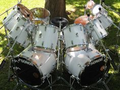 Drum Solo, Drum Music, Drums Beats, Music Beats, Iron Maiden Posters, Ludwig Drums, Snare Drum, Bass Drum, How To Play Drums