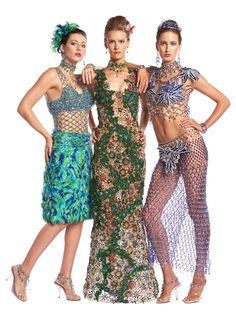 Gail Be Designs-Specializing in beaded high-fashion fabric-free design Fashion Fabric, Wearable Art, Free Design, High Fashion, Artsy, Two Piece Skirt Set, Costumes, Beads, Skirts