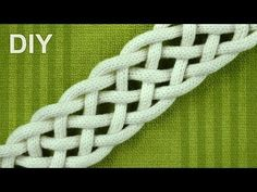 How to Braid with SIX strands - simple Friendship bracelet - YouTube