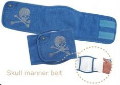 Denim Belly Band for Dogs Wrap Pattern, Dog Pattern, Pet Shop, Belly Bands For Dogs, Puppy Gifts, Boy Dog, Dog Items, Dog Diapers, Dog Wear
