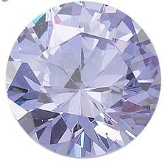 Round Faceted AAA Rated Lavender Cubic Zirconia Stones With Top Cut & Polish  These are a man-made composition created to simulate the brilliance of a diamond.  The hardness of these cubic zirconia stones is 8.5 on the Mohs scale.  Theyre brilliantly cut, have a beautiful shine and are loupe clean.