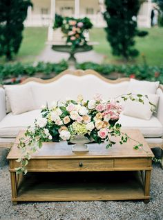 Pretty garden wedding decor: Photography : Katie Grant Photography Read More on SMP: http://www.stylemepretty.com/2016/07/14/fall-australian-garden-wedding/