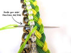 Tutorial - DIY: Friendship Bracelets | The Average Girls Guide.