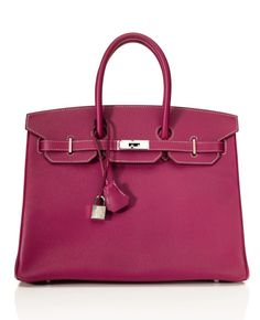 Hermès 35cm Two-Tone Candy Collection Tosca Epsom Leather and Rose Tyrien Birkin  Hermes Birkin 6ac521b73ccb3