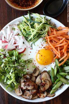Bibimbap Bowl Recipes