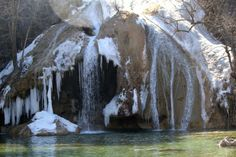 Turner Falls is crazy pretty.  Just look at that photo: snow, ice, sunshine, and a waterfall!