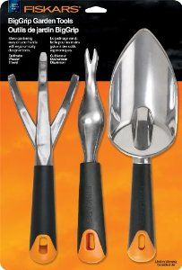 Fiskars 7057 Big Grip Gardening Tool Set, 3-Piece,$19.72