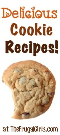 Craving Cookies?? You'll love these Delicious Cookie Recipes! ~ from TheFrugalGirls.com #cookie #recipes