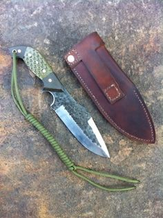 Tactical San Mai survival knives