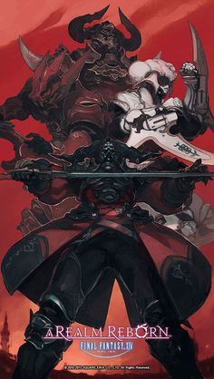 gameraddictions:  Villains Poster Final Fantasy XIV: A Realm Reborn