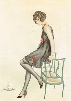 vargas fashion illustrations | Behind the Scenes"