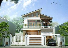 Những mẫu biệt thự đẹp 2 tầng thiết kế hiện đại