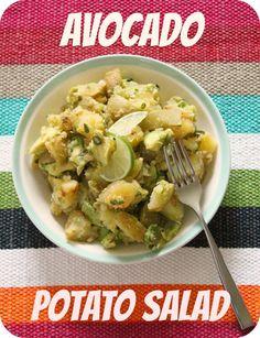 Wondering how to take vegan potato salad to the next level? Three words: Avocado Potato Salad.