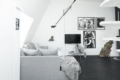 Sort/hvid oase i Sverige | Boligmagasinet.dk