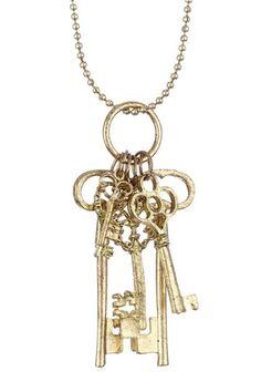 Keys Necklace.