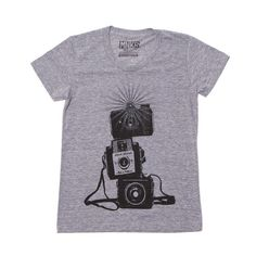 Three Cameras Tee Women's