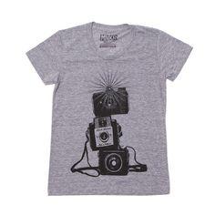 Three Cameras Tee Women's