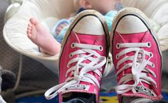 Always running around after your kids? Need a good pair of shoes to suit your busy mum life? Here are 5 reasons converse are the shoes for you.
