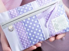 another purple pouch ... - Pretty by Hand -
